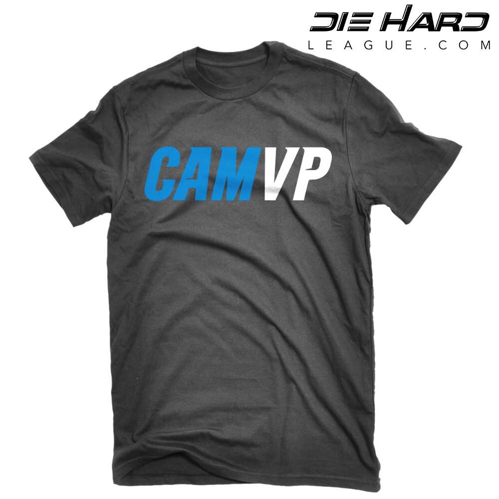 Cam Newton Apparel - Carolina Panthers Cam Newton MVP Black Shirt dffdfda16