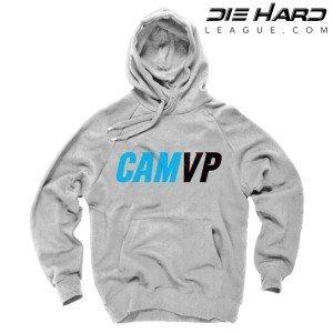 Carolina Panthers Cam Newton MVP White Hoodie