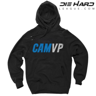 Cam Newton Hoodie - Carolina Panthers MVP Black Hoodie