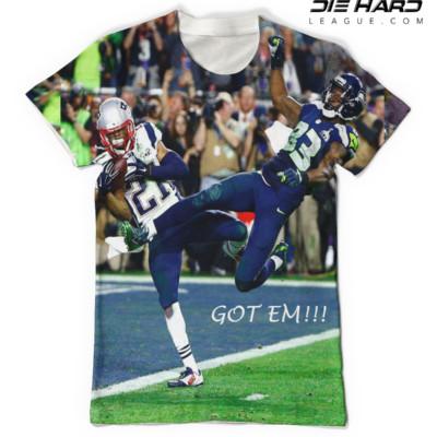 New England Patriots T Shirt Super Bowl 49 Winning Tee