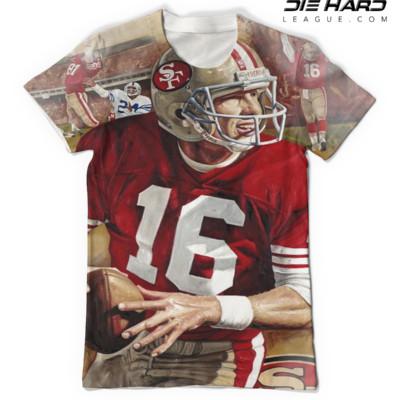 Joe Montana- San Francisco 49ers Full Tee