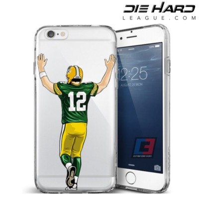 Aaron Rodgers Stats - Green Bay Packers iPhone 6 Case