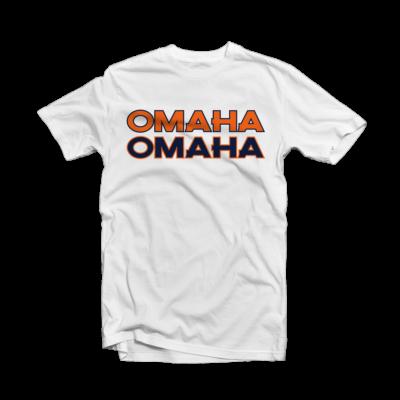Peyton Manning News - Denver Broncos OMAHA White Tee