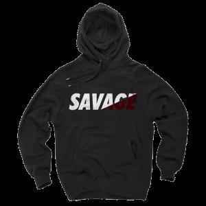 Arizona Cardinals Sweater SAVAGE Black Hoodie