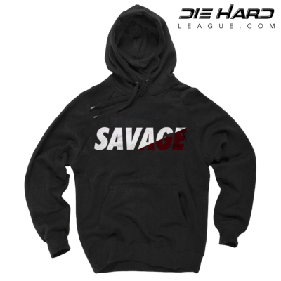 Arizona Cardinals Sweater SAVAGE Black Hoodie