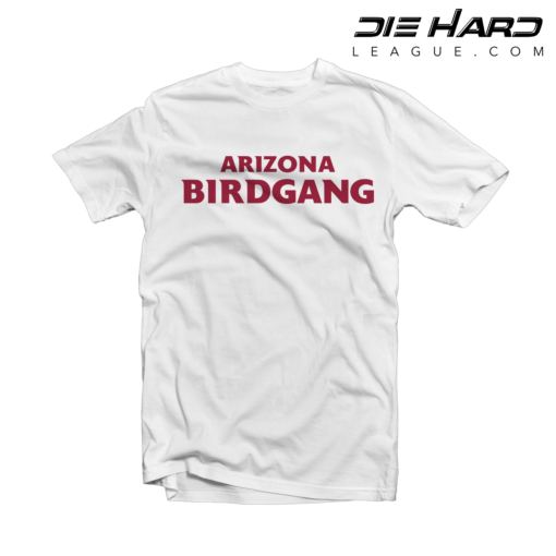 7bf1e9bd9fc3 Shop. Home Arizona Cardinals Cardinals Shirts Arizona Cardinals T-Shirt  BIRD GANG ...