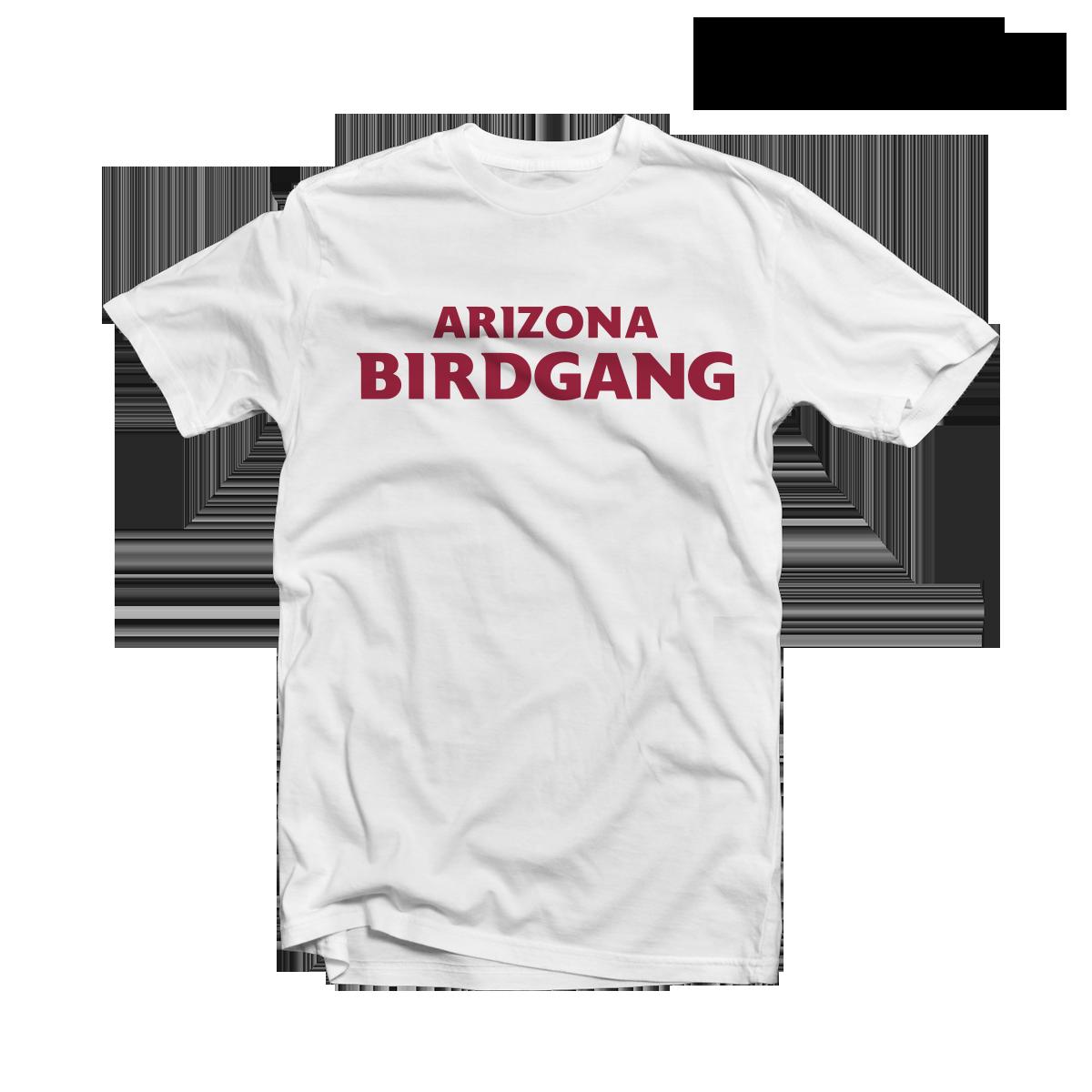 7948019301ba Arizona Cardinals T-Shirt BIRD GANG White Tee