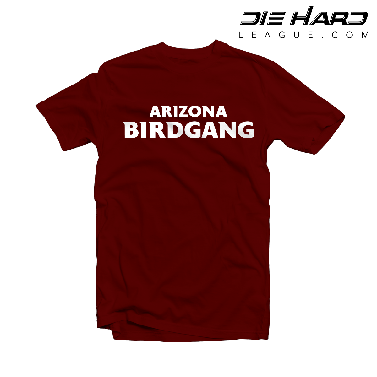 finest selection 90d02 9b9fc Arizona Cardinals T-Shirt - BIRD GANG Cardinal Tee