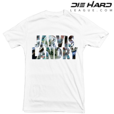 Miami Dolphins T Shirt Jarvis Landry White Tee