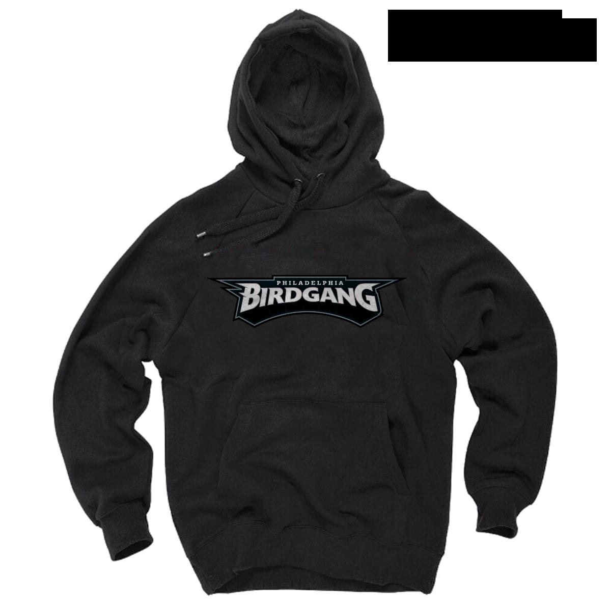 f5e533e94b3 Eagles Hoodie - Philadelphia Eagles Bird Gang Black Hoodie