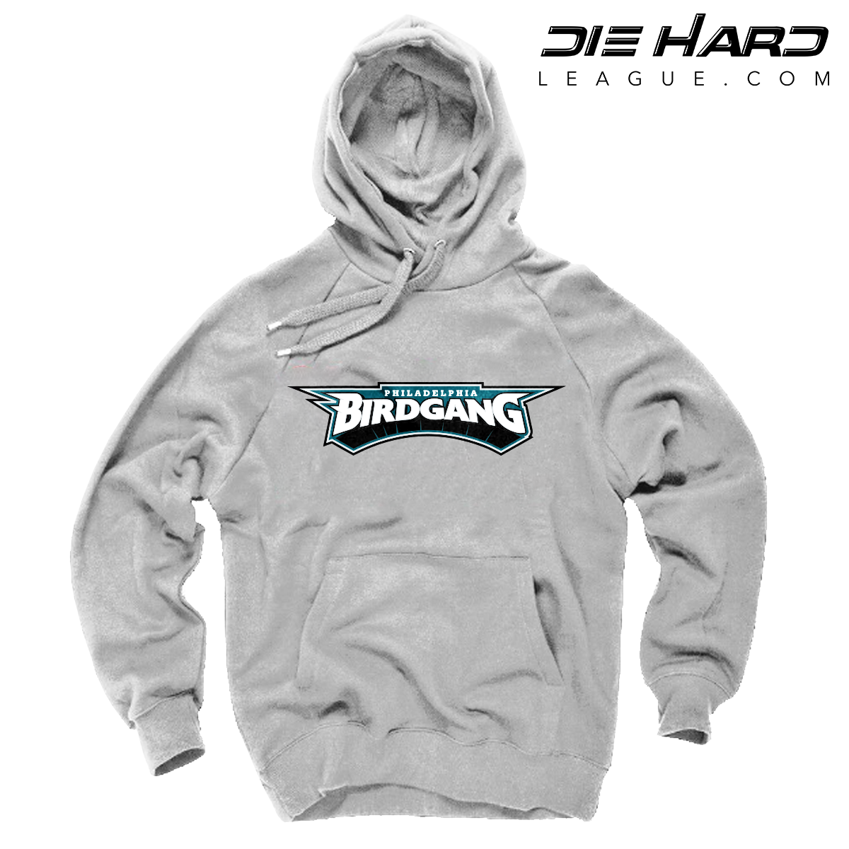 pretty nice 7339a bf3b3 Philadelphia Eagles Hoodie - Bird Gang White Hoodie