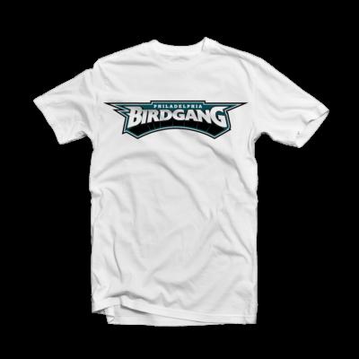 Eagles T Shirts - Philadelphia Eagles Bird Gang White Tee