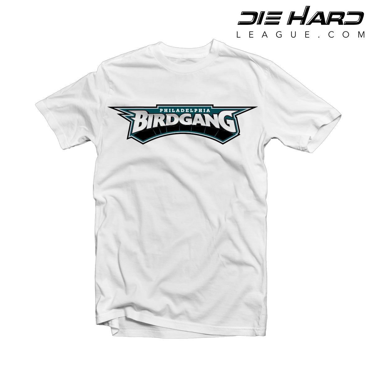 brand new aaefa 9dea6 Eagles T Shirts - Philadelphia Eagles Bird Gang White Tee