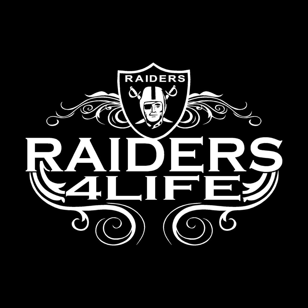 Raiders For Life Oakland Raiders Shirt Black Tee Best