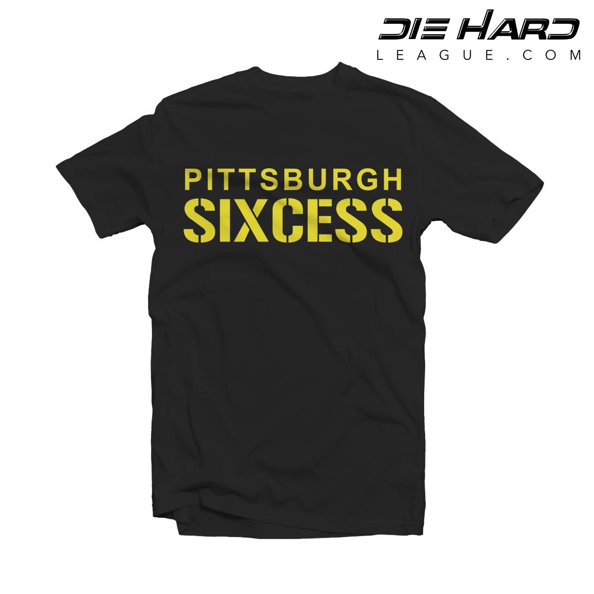 40ed84a33c5 Pittsburgh Steelers Shirt - SIXCESS Black Tee