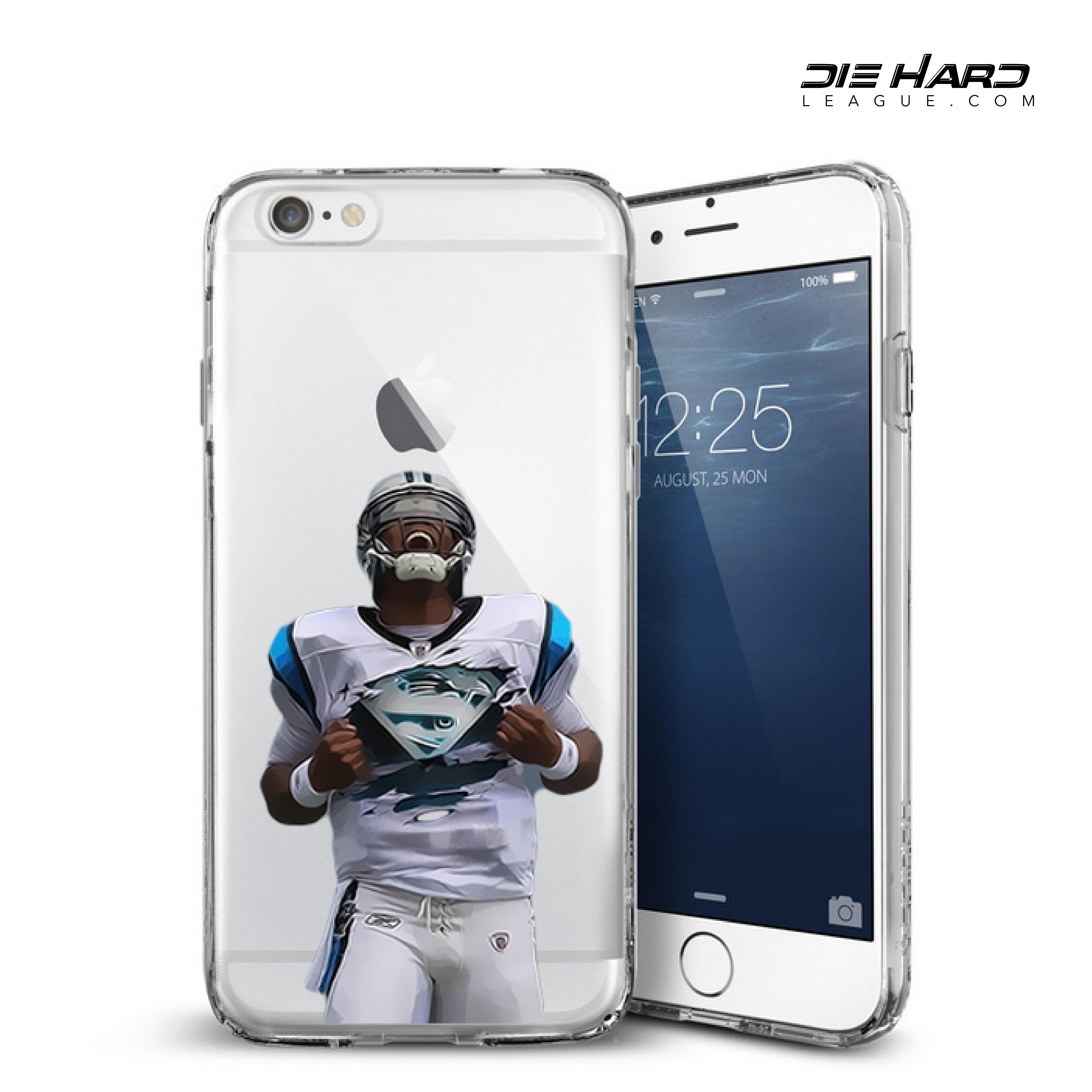buy popular 787b1 3539a Carolina Panthers Cam Newton Superman iPhone 6 Case