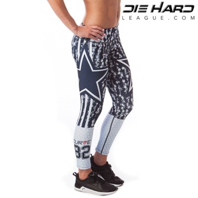 Dallas Cowboys Womens Sport Leggings