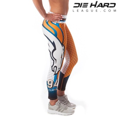 Denver Broncos Womens Sport Leggings