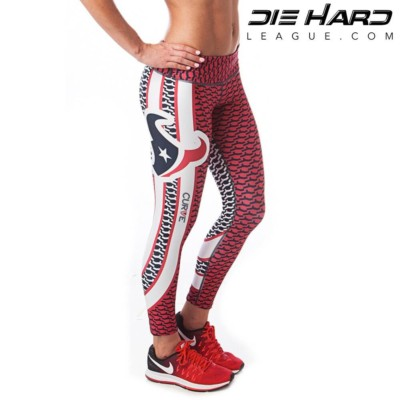 Houston Texans Womens Sport Leggings