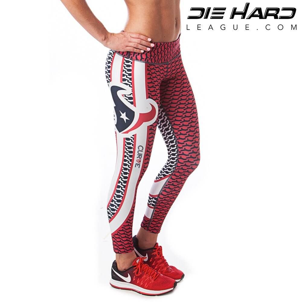 huge discount b8f46 1163f Houston Texans Womens Sport Leggings