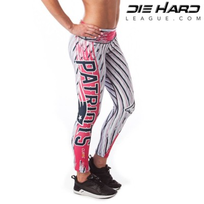 New England Patriots Womens Sport Leggings