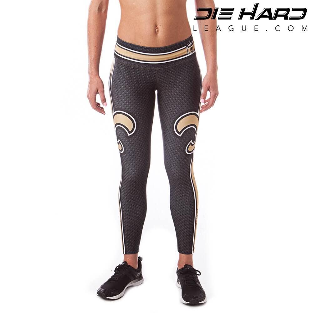 New Orleans Saints Womens Sport Leggings