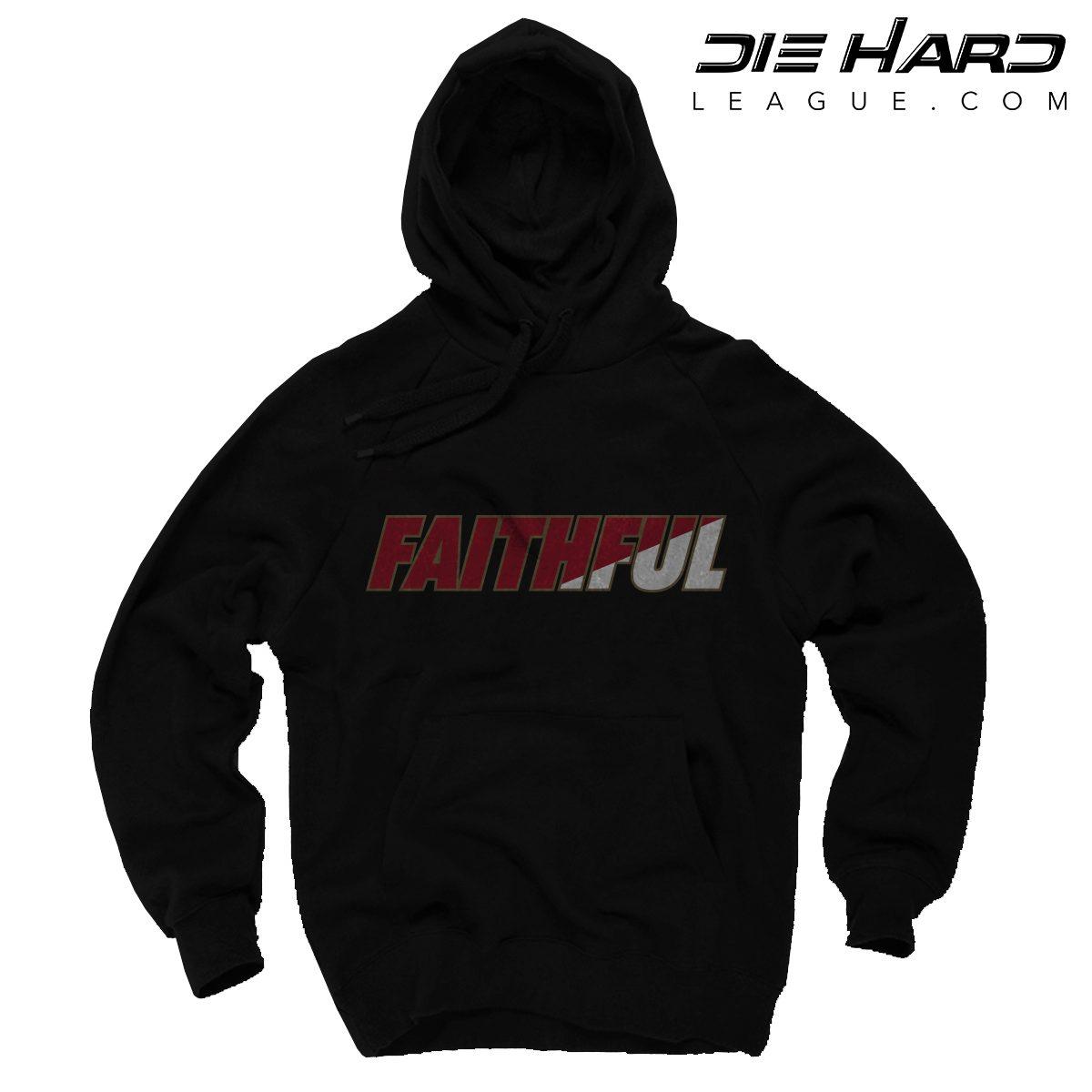 49er Hoodie- San Francisco 49ers FAITHFUL Black Hoodie 9317df166259