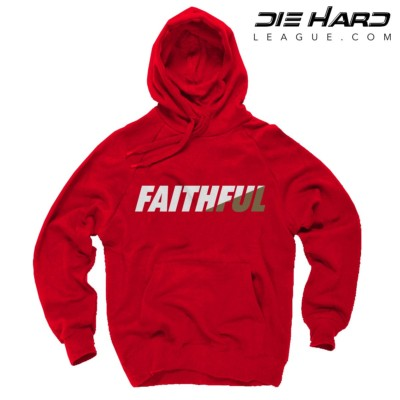 San Francisco 49ers Hoodies Sale - FAITHFUL Red Hoodie