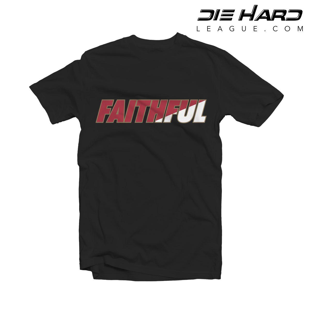 Shop. Home San Francisco 49ers Shop San Francisco 49ers Shirts 49er T Shirts  – San Francisco 49ers FAITHFUL Black Tee e121e1810