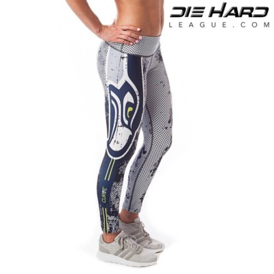 Seattle Seahawks Womens Sport Leggings