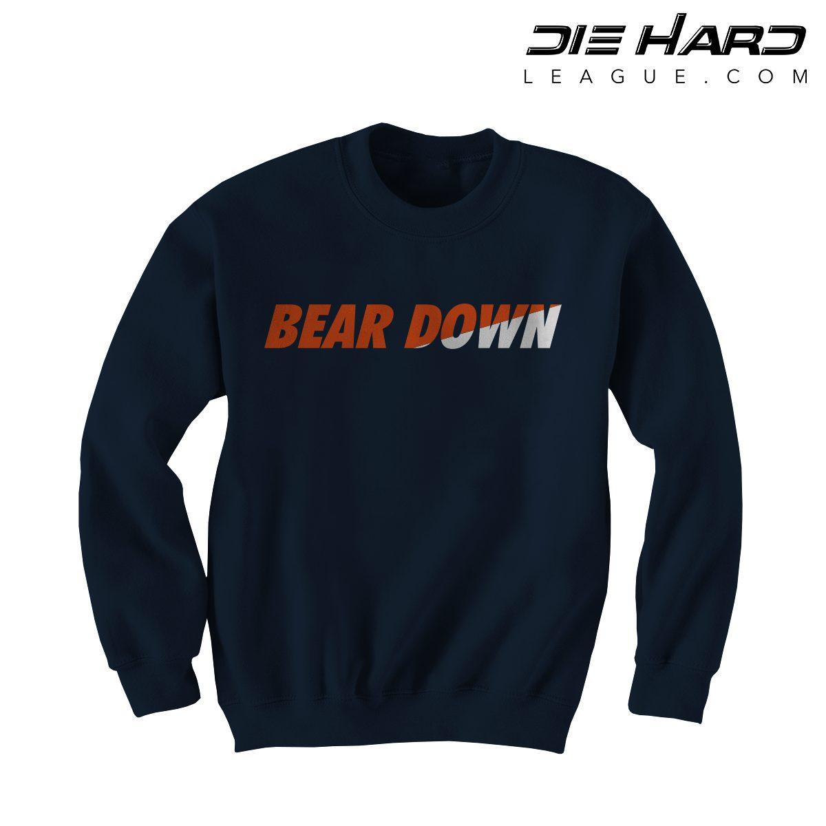 Bears Sweatshirt Chicago - Bear Down Navy Crewneck [Best Price]