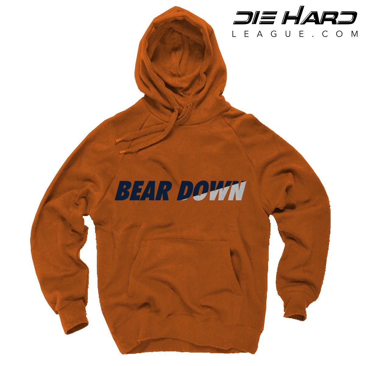 58e53c2e Bears Hoodie Chicago - Bear Down Orange Hoodie [Best Priced]