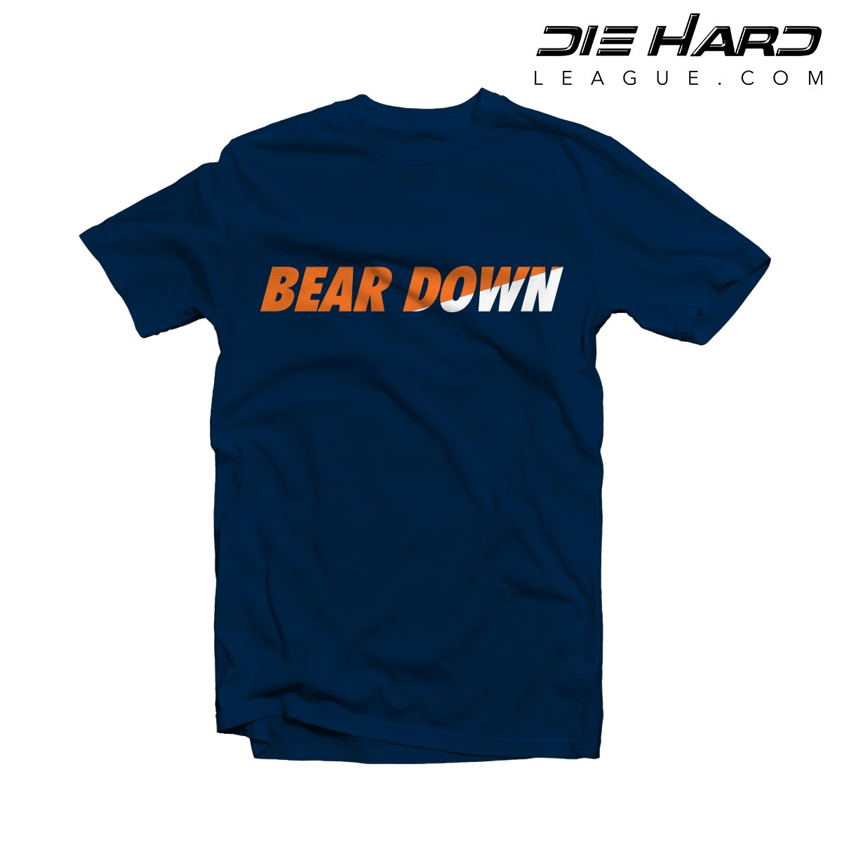 best service 1aa08 9b08f Chicago Bears Shirt - Bear Down Navy Tee [ Fast Shipping ]