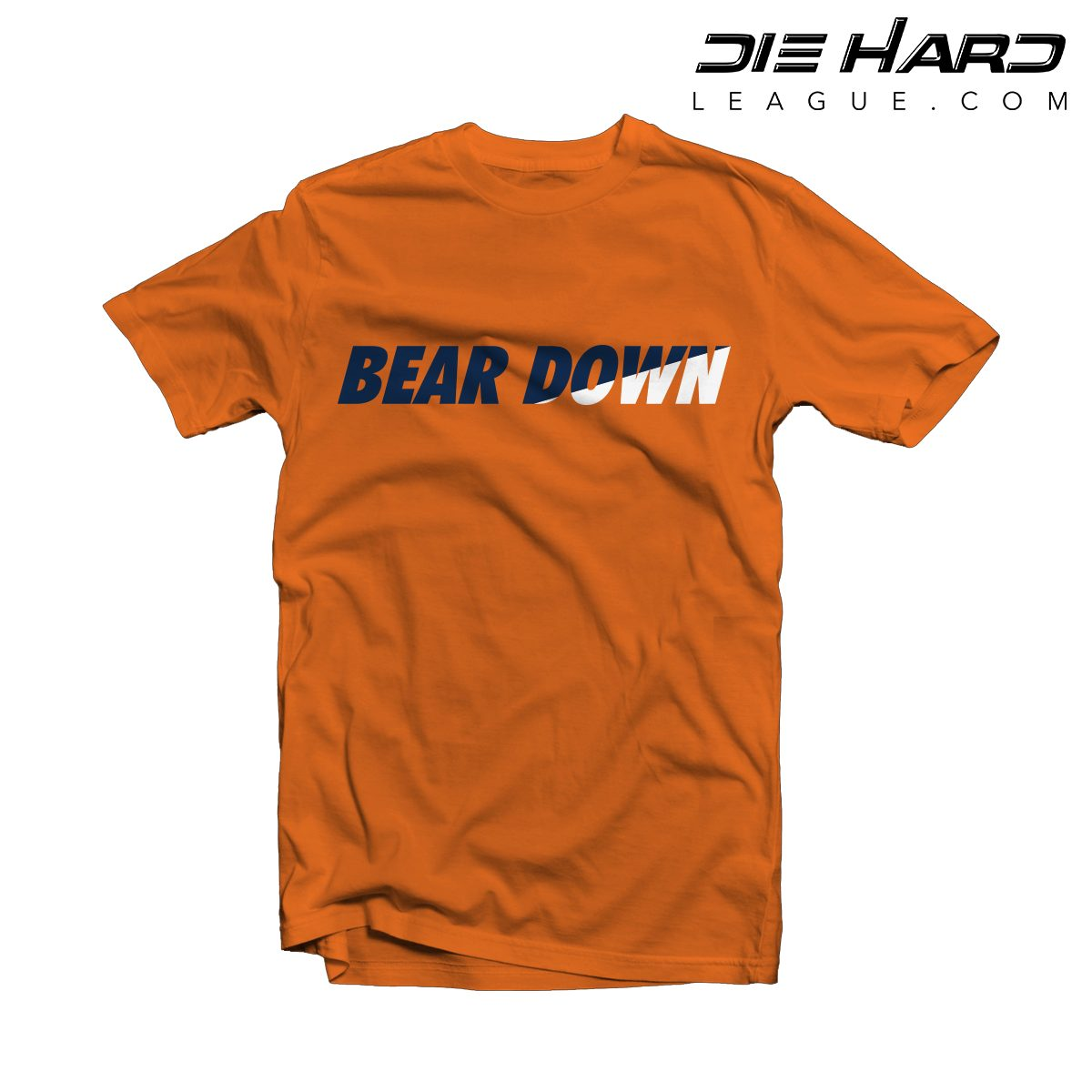 various colors 152cf 24f0c Chicago Bears T Shirts - Bear Down Orange Tee [Best Selling]