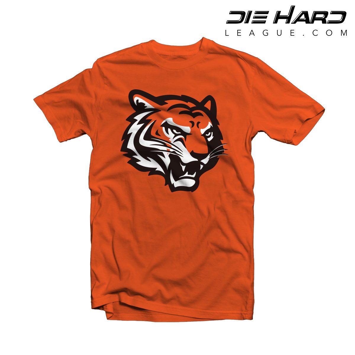 9ebfb7c3d Cincinnati Bengals Shirts - Alternate Logo Orange Tee  Fast Shipping