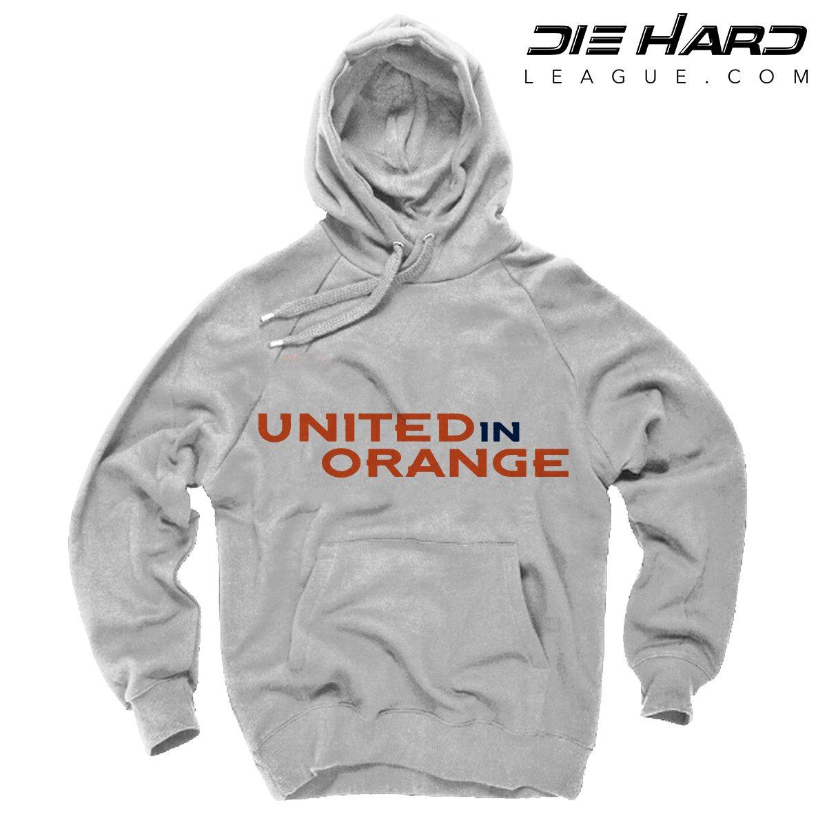 the latest 0cbdc 15ac0 Broncos Hoodie Denver - United in Orange White Sweater