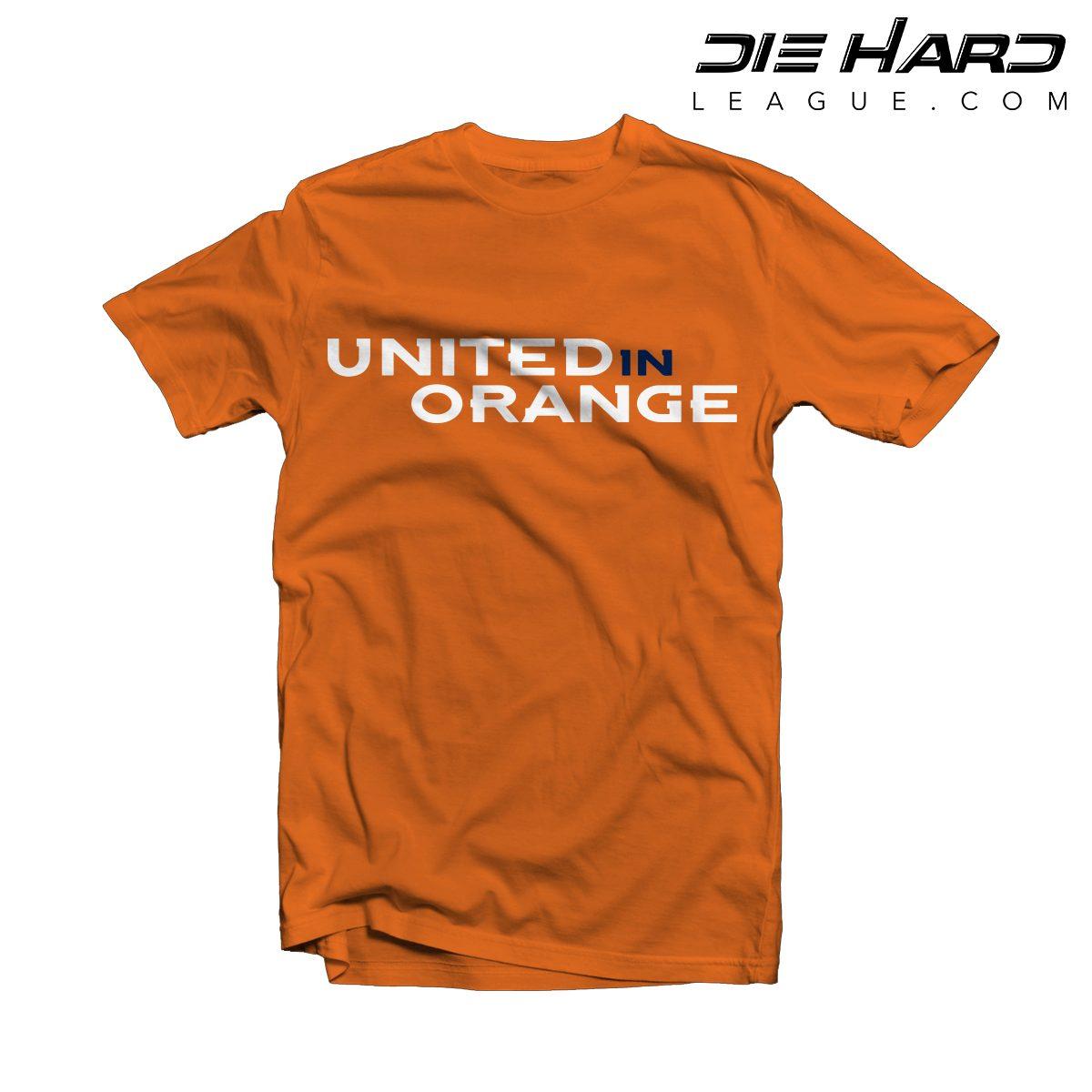 18e3f47578a Broncos T Shirts - United in Orange Orange Tee [ Best Priced ]