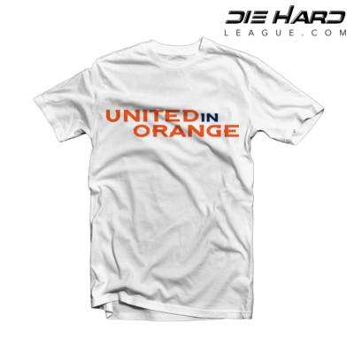 Denver Broncos Shirts - United in Orange White Tee