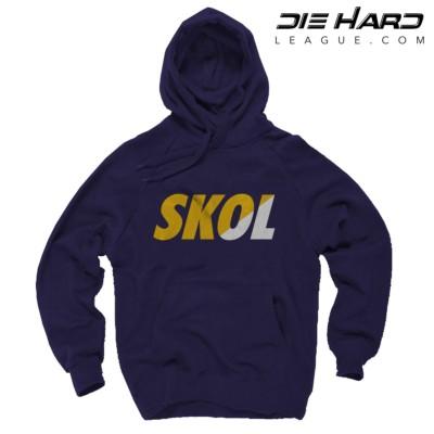 Vikings Hoodie - Minnesota Vikings SKOL Purple Hoodie