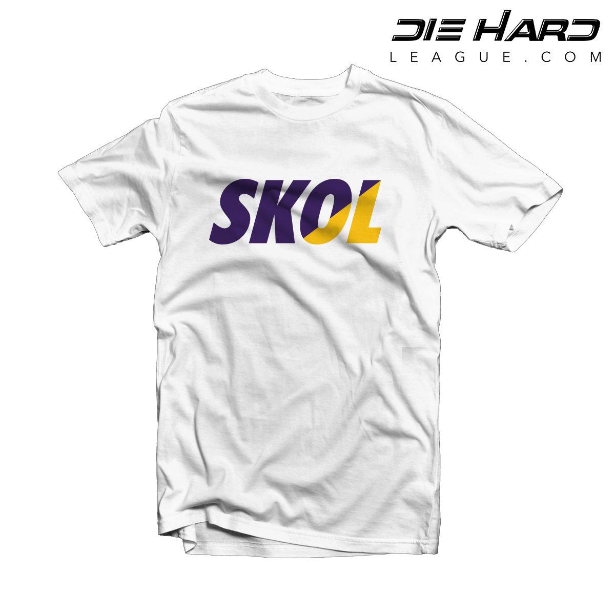 ea681c89 Viking Shirt- Minnesota Vikings SKOL White Tee