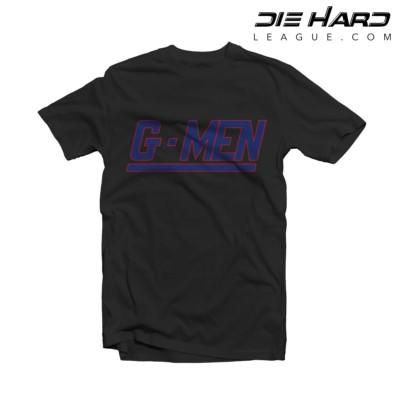 NY Giants Shirts - New York Giants GMEN Black Tee