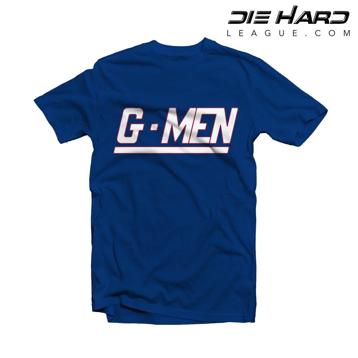 watch fff5d af7cb New York Giants T Shirts - GMEN Blue Tee