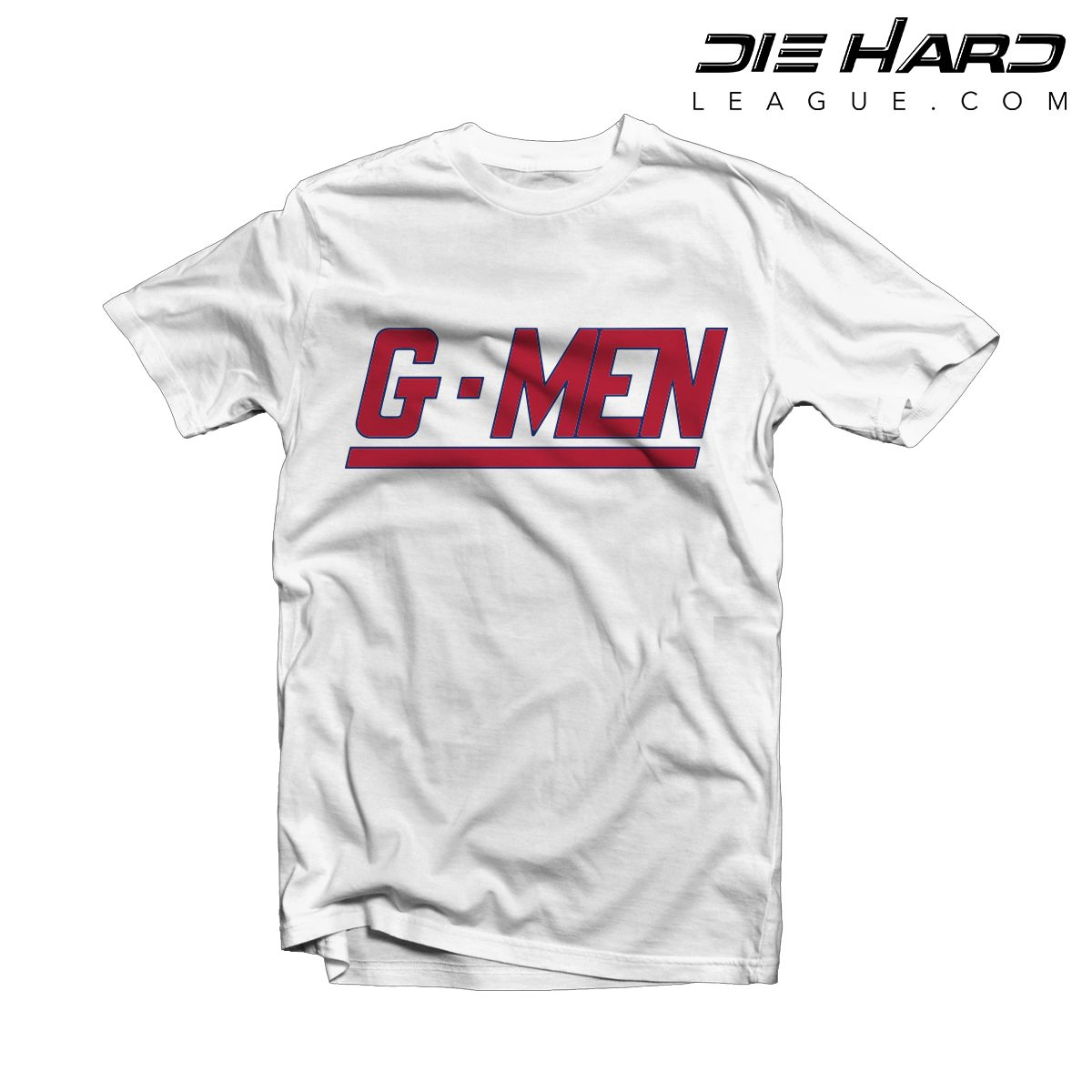 more photos 825a9 82f08 NY Giants Shirt - New York Giants GMEN White Red Tee