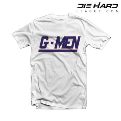 New York Giants T Shirt GMEN White Tee