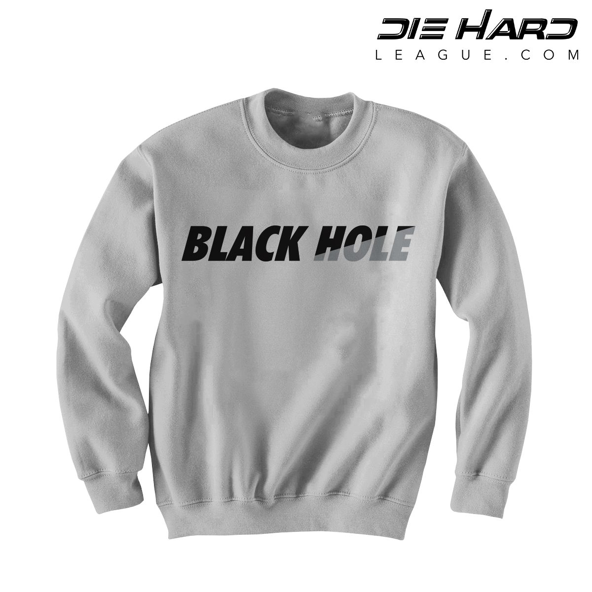Oakland Raiders Sweatshirt - Black Hole White Crewneck ...
