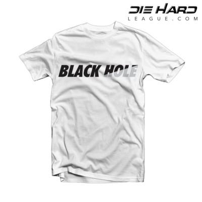 Raider Shirts - Oakland Raiders Black Hole White Tee
