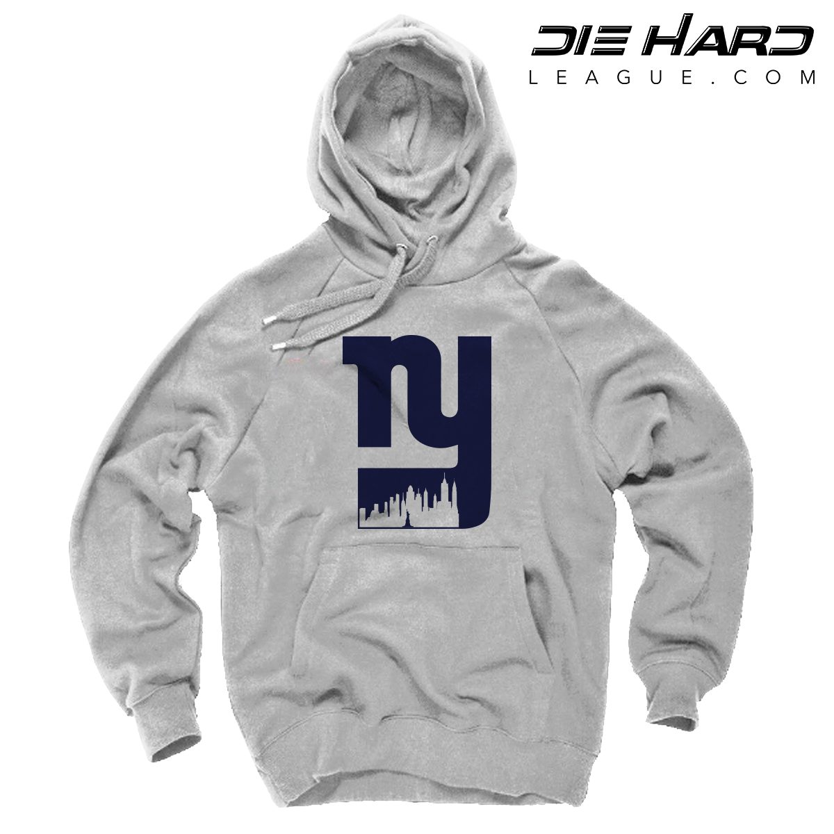 size 40 f2663 6eabd NY Giants Hoodie - New York Giants Alternate City Logo White Hoodie