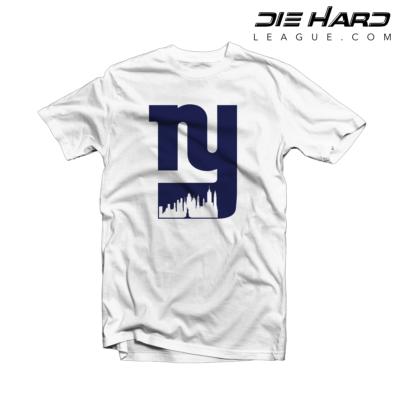 New York Giants T Shirt Alternate Logo City White Tee