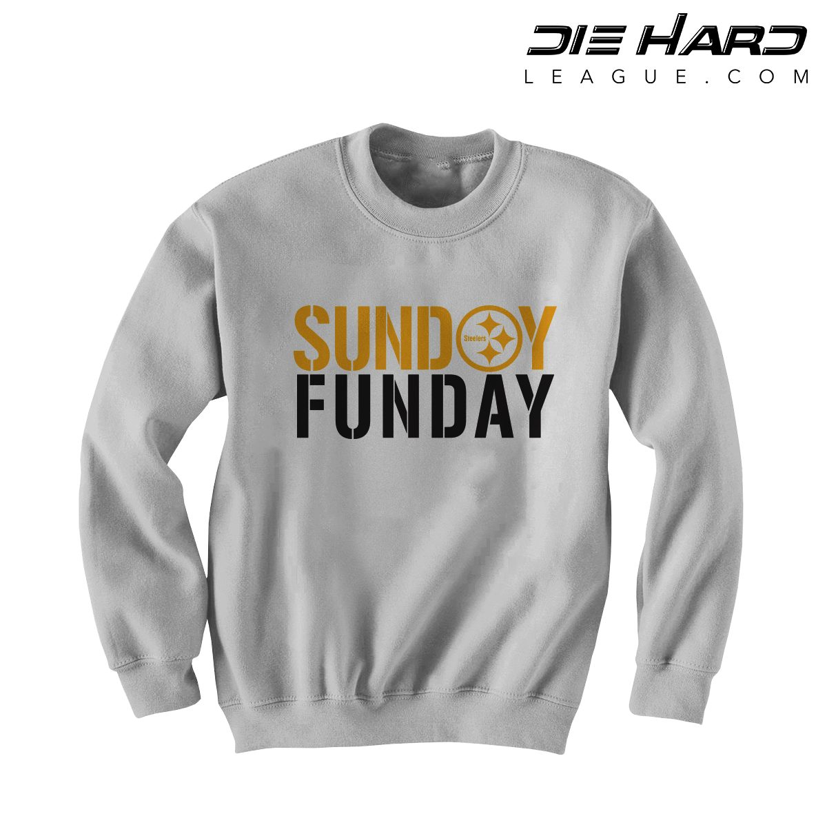 quality design 3c0cc 89978 Steelers Merchandise Pittsburgh - Sunday Funday White Crewneck
