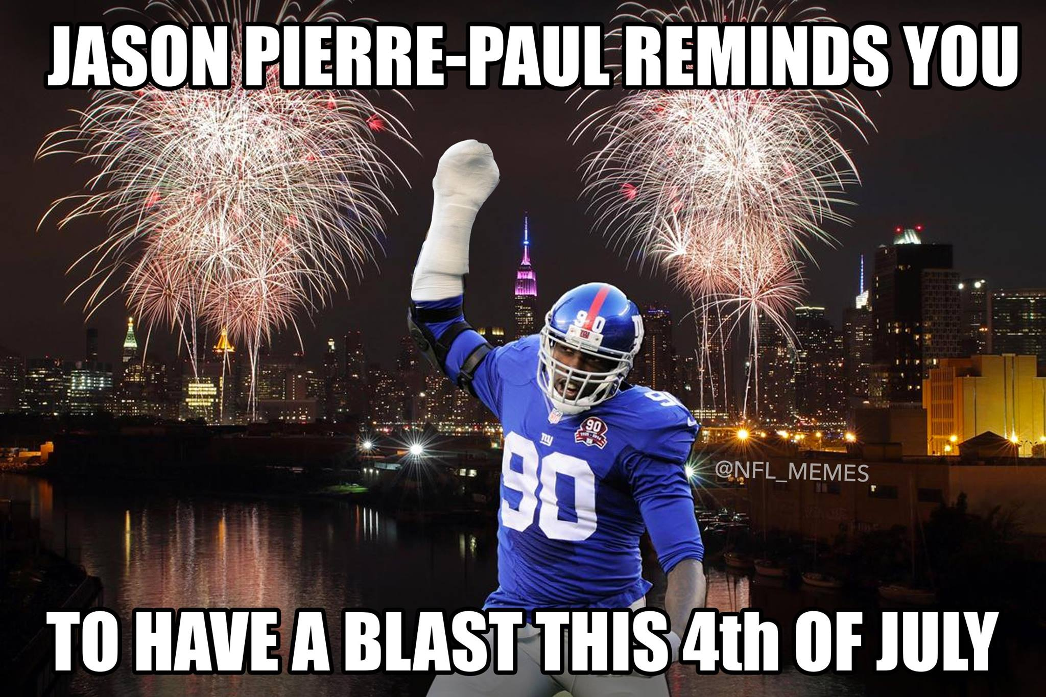 Jason Pierre Paul Meme